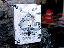 ARCANE WHITE ELLUSIONIST BICYCLE PLAYING CARDS DECK MAGIC TRICKS USPCC NEW