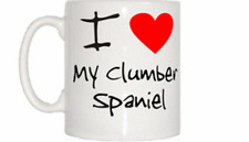 I Love Heart My Clumber Spaniel Mug