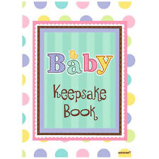 Amscan Baby Shower Keepsake Book Record of Guests and Gifts 459307 New