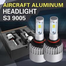 2X New 9005 HB3 9011 9022 Single Beam PHILIPS 252W 25200LM 6500K LED Light Bulbs