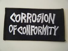 CORROSION OF CONFORMITY PATCH Iron On Down Nola Sludge Stoner Doom Metal NEW