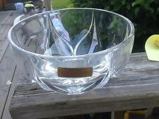 Vintage Nachtmann Bleikristali Germany 24% Lead Crystal Bowl candy dish