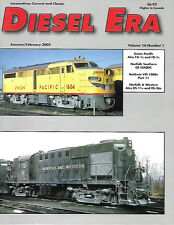 Diesel Era V16 N1 UP Union Pacific Alco Freighters N&W RS-11 RS-36 NS GE ES40DC