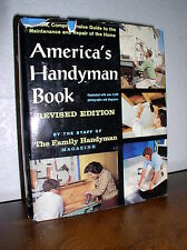America's Handyman Book-Revised Edition by Staff of Family Handyman (HC,DJ,1970)