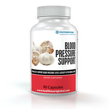 All Natural Fast Dissolving Blood Pressure Support Herbal Capsules - 90 PIlls