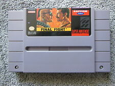 Final Fight per Super Nintendo SNES gioco-GAME (NTSC USA-VERSIONE)