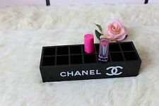 Brand New CHANEL Make Up Cosmetic Lipstick Organiser Storage VIP Gift Box