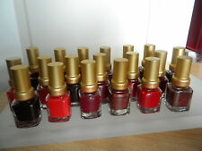 MASTERS COLORS LOT 19 VERNIS ONGLES ROUGE 30 96 92 94 31 74 115 66 93 20 114 40
