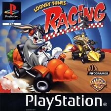 LOONEY TUNES RACING PLAYSTATION PS1 PAL GAME DISC