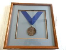 New york life insurance company bronze medal Rare 148th summer games framed !