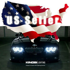 New BMW E39 5-Series White 7000K LED Halo-Angel Eyes XENON kit