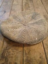 ORIGINAL 1920s 1930s VINTAGE WOOL NEWSBOY CAP HAT Size 6 3/4 / NOS with Tags