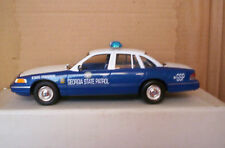 1/25 SCALE LINDBERG 1997 FORD CROWN VICTORIA GEORGIA STATE POLICE  BUILT MODEL