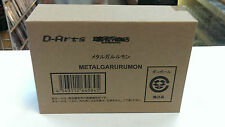 ​​D-Arts Digimon Adventure Metal Garurumon BANDAI Action Figure Box