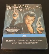 RESIDENT EVIL AFTERLIFE Blu-Ray SteelBook Italy. Only 1 On Ebay! New, OOP & Rare