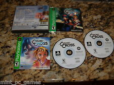 Chrono Cross (PS1, 2001) Game Game Playstation 1 PS2 (Near Mint)