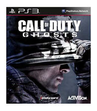 PS3 ACTIVISION Call of Duty: GHOSTS (Sony PlayStation 3, 2013)