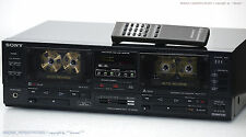 SONY TC-WR750 High-End Doppel Cassette Tape Deck + FB!! Revidiert +1J.Garantie!