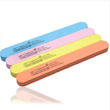 10Pcs Sanding Nail Files Buffer Block Manicure Polish Acrylic UV Gel Art Tips