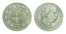 pcc1378_5) Regno Umberto I (1878-1900) Lire 2 Stemma  1887