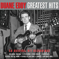 Duane Eddy GREATEST HITS Best Of 50 Original Recordings REMASTERED New 2 CD