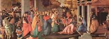 A3 Box Canvas Adoration of the Magi London 1 Botticelli