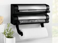 Kitchen Roll, Foil & Cling Film Dispenser Wall Mounted Storage / Holders