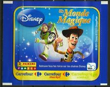 PANINI CARTES DE COLLECTION CARS TOY STORY MICKEY CLOCHETTE NON OUVERTE SURPRISE
