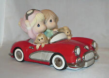 Red Convertible Precious Moments The Honeymoon Never Ends Limited Edition NWOB