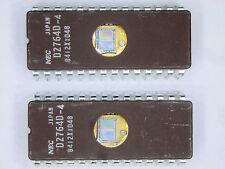 """UPD2764D-4  """"Original"""" NEC  28P DIP 64K EPROM  IC  2  pcs"""
