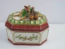 Fitz And Floyd Classics Vintage Canister/Cookie Jar in New in Original Box Rare