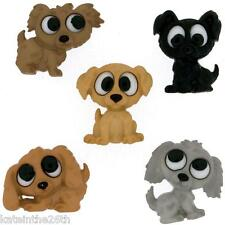 Jesse James, Dress It Up Buttons, Sewing, Scrapbook, 'Playful Puppies' Dogs Pups