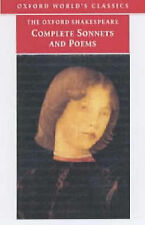 The Complete Sonnets and Poems by William Shakespeare (Paperback, 2002)