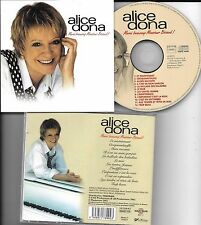 CD 12 TITRES ALICE DONA MERCI BEAUCOUP MONSIEUR BECAUD DE 2002
