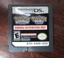Darkrai Distribution Only, Nintendo DS, Not For Resale, Rare - DAMAGED , AAQE