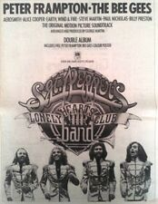 BEE GEES Peter FRAMPTON Sgt Peppers 1978 UK Poster size Press ADVERT 16x12 inch