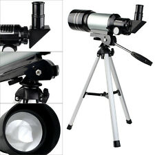 New 70mm Refractor Terrestrial&Astronomical Telescope+Tripod+Eyepiece Astronomer