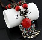 New Fashion Pendant Chain Crystal Choker Chunky Statement Bib Necklace Jewelry