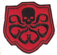 "Captain America Red Skull HYDRA  3"" Logo Patch- FREE S&H (CAPA-10)"