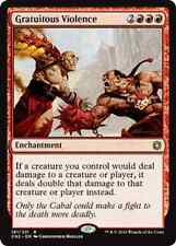 Gratuitous Violence NM Conspiracy: Take the Crown Red Rare