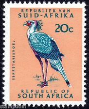 SOUTH AFRICA 1968 20c Secretary BIRD P14 w.RSA in triangle Sc#340 1v MNH @E1981