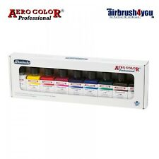 Aero Color Airbrush-Grundfarbenset BASIS #Schmincke 81108 097