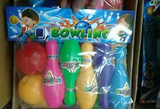 Set palle e birilli bowling kit gioco di qualità giocattolo toy