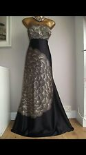 Monsoon 100% silk evening dress size 18