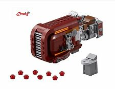 LEGO STAR WARS REY'S SPEEDER 75099 *NEW - NO BOX or MINIFIGURES*