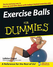 Exercise Balls For Dummies by LaReine Chabut (Paperback, 2005)