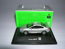 Welly Peugeot 407 Coupe silver Metal, 1:87 H0