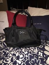 Kate Spade Black Nylon Stevie Bag