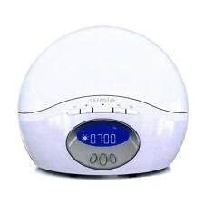 NEW Lumie Body Clock Active 250 Dawn Simulator Alarm Clock with FM Radio, White