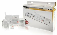 Konig Wireless Alarm Set PSTN - 433 Mhz / 100 dB SEC-ALARM200 PIR Sensor Door